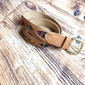 Accessories - Genuine Leather Indian Belt